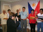 New Filipino-American Dual Citizens during SUGAR's Dual Citizenship Outreach Program
