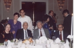 SU dignitaries in attendance Seated: Mrs. Pulido, Dr. Pulido, Julio Sy, the late Dr. Calderon. Standing: Dr. Romy Morile