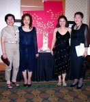 Dr.Teresita Sinda, SU College of Nursing Dean and some Nursing alumni