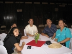 2006 Outstanding Sillimanian Dr. Edilberto Redona and his family and friends