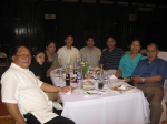 2006 OSA Dr. Ed Redona in center is flanked on his right by Diana Bernardez Chowhudry, a lady friend and Trustee Rev. No
