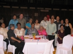 2006 OSA's and friends pose with Dr. Malayang, 1982 OSA Prof. Briones and 2000 OSA Dr. Proceso Udarbe at International