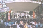 An afternoon performance by a group of Elemementary School students on the TIPON 2006 stage.