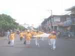 SU alumni from near and faraway places enjoyed participating in the traditional Founders Day parade in downtown Dumaguet